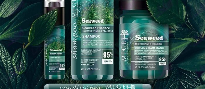 محصولات مو جلبک دریایی میگ