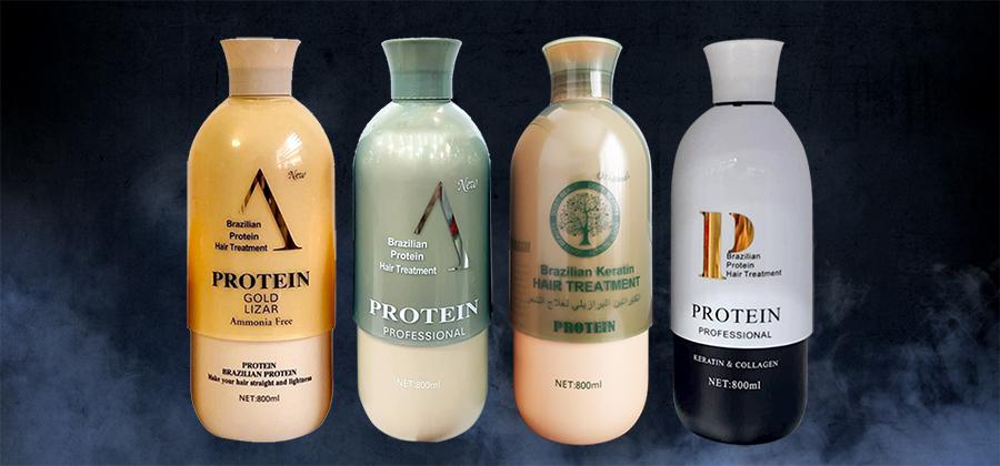 انواع محصولات پروتئین تراپی